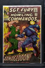 Sgt Fury and His Howling Commandos #29 Marvel Silver Age Comic 1966 Stan Lee 7.5