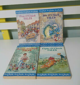 SET OF 4X ENID BLYTON O'CLOCK BOOKS! CHILDRENS FICTION BOOKS!
