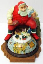 90 Christmas Enesco Battery Action Light & Music Santa Sees You When Youre Sleep