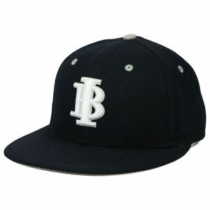 Indiana Bulls Nike True Fitted Flat Bill Brim Hat Cap Travel Baseball Team Men's