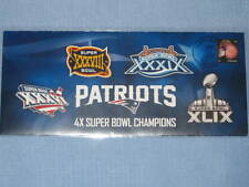 NEW ENGLAND PATRIOTS SUPER BOWL XLIX 49 CHAMPIONS,JUST RELEASED, ONLY 1 ON EBAY