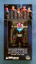 SINESTRO 6 INCH FIGURE DC DIRECT JUSTICE LEAGUE SERIES 1 GREEN LANTERN DC COMICS