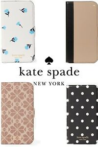 KATE SPADE Leather Polka Dot Bloom iPhone 12 PRO MAX Magnetic Folio Wallet Case