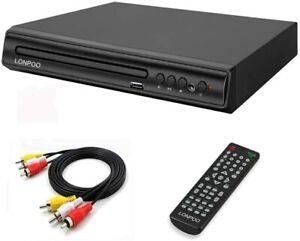Compact Region Free DVD Player CD/DVD Player USB Remote RCA PAL NTSC USB Multi