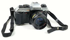 Konica FT-1 Motor SLR Camera With Wolfpro Macro Auto 1:2.8 28mm 52 Lens & Strap