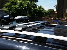 VW Caddy Alu Stangen Schienen Dach + Abschließbar Querstange 2010 Onward 75 Kg