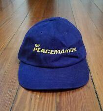 RARE VINTAGE 1997 THE PEACEMAKER MOVIE PROMO HAT - DREAMWORKS SKG GEORGE CLOONEY