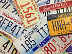 License Plates. All States Available + Additional Countries - Good Condition