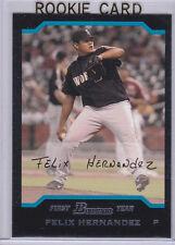FELIX HERNANDEZ ROOKIE CARD 2004 Bowman 1st RC Baseball Seattle Mariners!