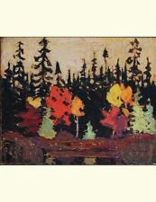 Black Spruce and Maple, Tom Thomson. Blank Journal : 150 Blank Pages, 8,5x11...