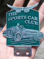 The Sport Car Club RACING of Badge Vintage Jaguar collector BRITISH BARC sale