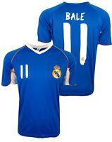 Real Madrid Gareth Bale Training Jersey, Real M. Soccer Shirt # 11 Bale
