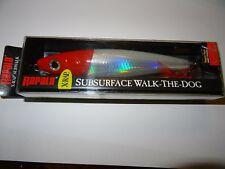 RAPALA X-RAP SUBSURFACE WALK-THE DOG - XRSB-15 - RED HEAD