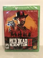 Red Dead Redemption 2 Xbox One BRAND NEW FACTORY SEALED ROCKSTAR GAMES MICROSOFT
