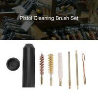 Rifle Gun Cleaning Kit Brush Shotgun Pistol Cleaner Tool Set for Cal.38/357/9mm