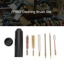 Gun Cleaning Kit for Rifle Pistol Handgun Shotgun Cleaner Hand Brushes Rod Set