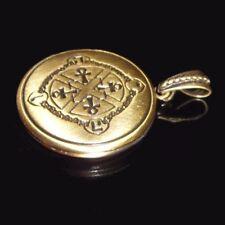 Süßes Ankh Medallion für Fotos Medaillon Anch Henkel Kreuz Amulett Messing