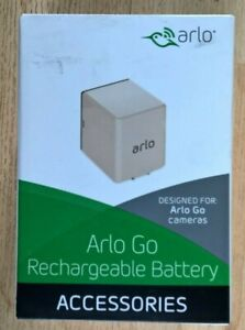 Arlo Go VMA4410 Rechargeable Battery, White