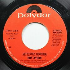 Soul 45 Roy Ayers - Let'S Stay Together / Fire Up The Funk On Polydor