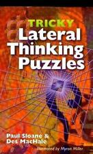 Tricky Lateral Thinking Puzzles by MacHale, Des, Sloane, Paul, Good Book