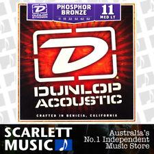 Jim Dunlop Acoustic Guitar String Set Medium Light 11-52 Phosphor Bronze Strings