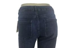 H&M Women's Denim Jeans Dark Wash Bootcut Classic Rise Stretch 1722/1 Size 6