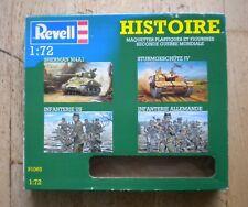 1:72 REVELL 91065  Sherman M4A1 + Sturmgeschütz IV + Infanterie US et Allemande
