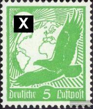Imperio Alemán 529x usado 1934 Correo aéreo