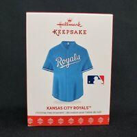 Kansas City Royals Jersey Hallmark Keepsake Christmas Ornament
