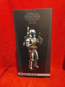 Jango Fett Bounty Hunter 1/6 Scale Figure Limited Edition Sideshow Star Wars
