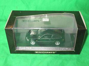 Minichamps 1989 Honda CRX 1/43rd scale diecast Ltd Ed VGC boxed