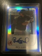BEN GAMEL 2011 BOWMAN CHROME PROSPECTS BLUE REFRACTOR RC ROOKIE AUTOGRAPH SP/150