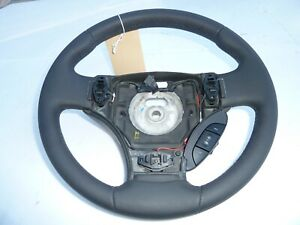 NEW 06 Aston Martin Vantage V8 DK Gray Leather 3 Spoke Factory Steering Wheel
