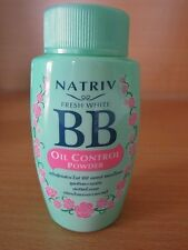 Oil control powder Natriv fresh white BB