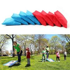 8Pcs Bean Bags Corn Hole Throwing Toss Game Replacements Carnival Camp Games