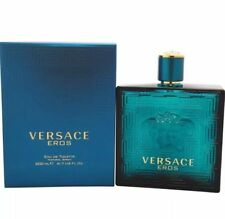 VERSACE EROS * 6.7 / 6.8 EDT Cologne Spray Men * NEW IN SEALED BOX *