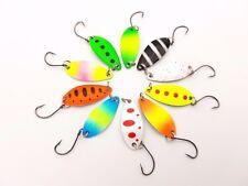 10x Japanblinker Forellenblinker Trout Spoon Mini Blinker Forelle B38