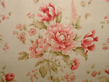 Ashley Wilde PEPLOW FLORAL RASPBERRY  Curtain/Upholstery/Soft Furnishing Fabric