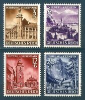 DR Nazi 3 Reich Rare WWII Stamp Hitler Carpat Forest Residence Annexion Slovenia