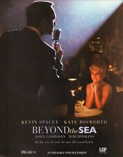 """""""Beyond the Sea""""--2004 Film Advertisement--Kevin Spacey/Kate Bosworth"""