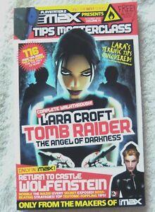 74039 Playstation Max Magazine - Tomb Raider Darkness / Wolfenstein Magazine 200