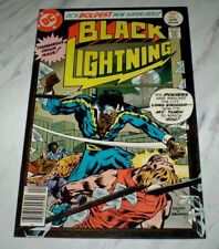 Black Lightning #1 NM+ 9.6 OW/W pages Unrestored 1977 1st appearance & origin