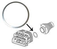 Aircooled VW Cylinder Head Shim  (1mm)