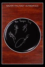 GFA Australian Rock Band  * THE TEMPER TRAP *  Signed Drumhead AD1 COA