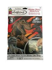 COLORFORMS Jurassic World STICKER STORY ADVENTURE SET CLASSIC TOY FUN!