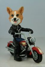 Welsh Corgi Pembroke On A Motorcycle See All Breeds & Bodies @ Ebay Store