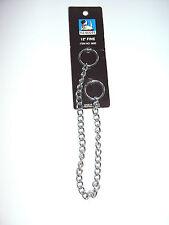 Hundehalsband/Kettenhalsband verchro. runde Glieder versch.Längen und Stärken