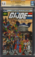 G.I. Joe #212 Emerald City Variant CGC 9.8 Signature Series Serpentor Sketch