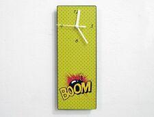 Pop Art Mass Culture BOOM Bomb - Wall Clock