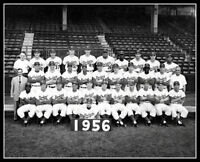 1956 Brooklyn Dodgers Team Photo 8X10 Robinson Flatbush Buy Any 2 Get 1 FREE